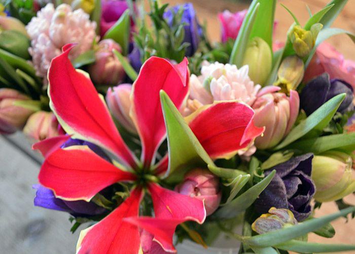 Valentijn &bloemen Borger